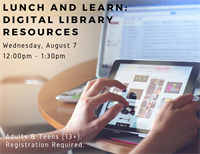 Lunch and Learn - Digital Library Resources