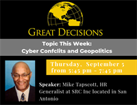 Great Decisions: Cyber Conflicts and Geopolitics