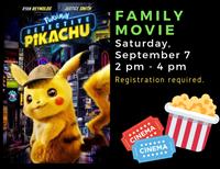 Family Movie - Pokémon Detective Pikachu