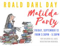 Roald Dahl Day - Matilda Party