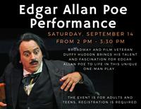 Edgar Allan Poe Performance