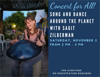 Concert for All! Song and Dance Around the Planet with Sagit Zilberman