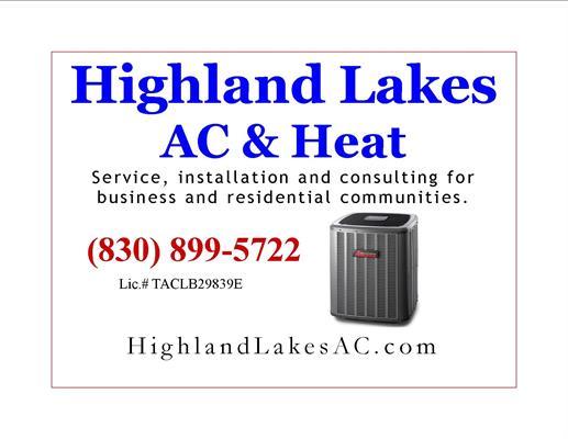 Highland Lakes AC and Heat