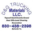 D & G Trucking-Materials