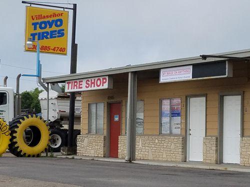 Next door to ElSenor Tire Shop