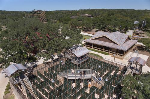 AMAZE'n Ranch Roundup, 5000 sq ft maze at Natural Bridge Caverns