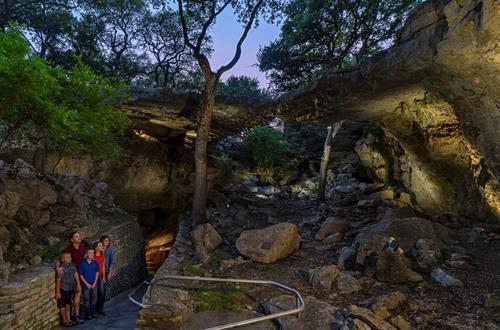 Sinkhole & Natural Bridge at Natural Bridge Caverns