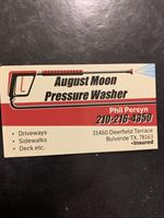 August Moon Pressure Washer