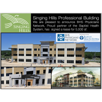 BHS Physicians Network Signs Lease for 5,000 sf at Singing Hills Professional Building