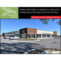 Singing Hills Retail 2 welcomes Bird Dog & Cat Fish Pet Shop