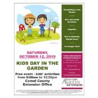 Extension Office welcomes families for Kids Day in the Garden