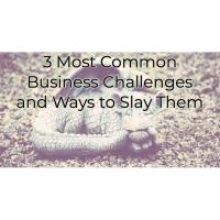 3 Most Common Business Challenges and Ways to Slay Them