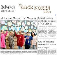 Bulverde Spring Branch - The Back Porch News - May 1st Edition