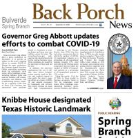 Back Porch News - Edition September 25th