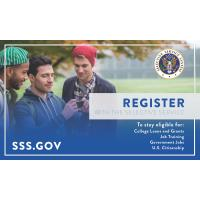 Males between the age of 18 and 25 required to register for Selective Service