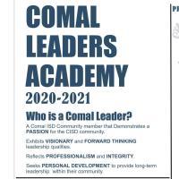 COMAL ISD PTA - COMAL LEADERS ACADEMY