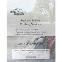 Stratton Landscaping has added Rock & Milling Crushing Services