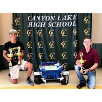 Canyon Lake HS Engineering team wins awards in national competition