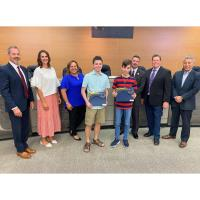 Smithson Valley High brothers receive honors in National Cyber Scholarship Competition