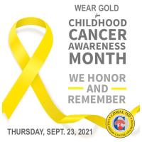 Annual district-wide Childhood Cancer Awareness tradition continues