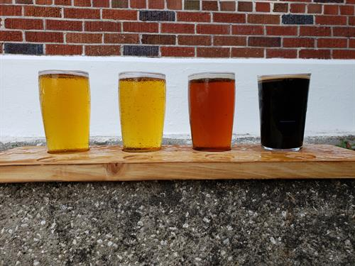 Try a flight of beer!