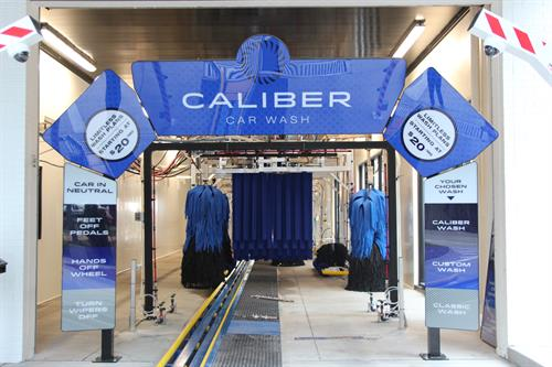 Caliber utilizes top-of-the-line technology to provide your best vehicle clean.