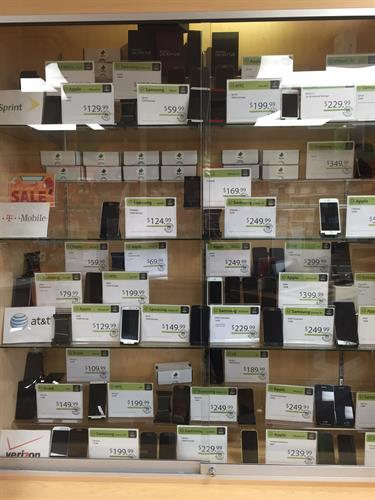 Device Pitstop of Maple Grove has a HUGE selection of refurbished cell phones for most carriers!