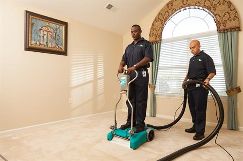 We specialize in general cleaning -- from carpets to tile -- we do it all!