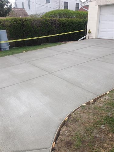 Cement Work. North Metro driveway replacement.