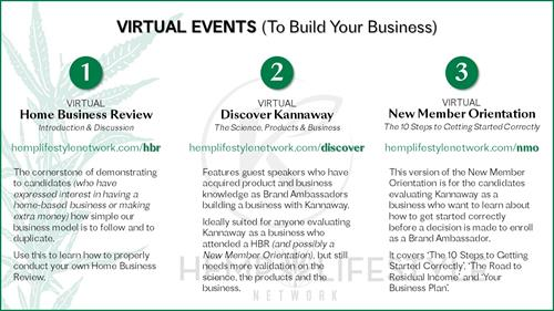 Attend a virtual event to learn more!