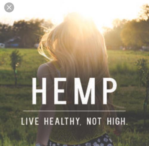 Hemp: Live Healthy Not High