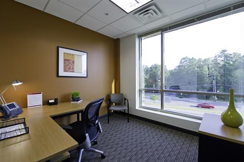 Enjoy an office with a view at Regus in Chapel Hill