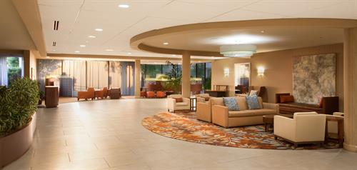 Rear Lobby with Business Center
