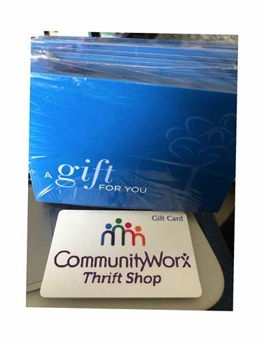 CommunityWorx Gift Cards
