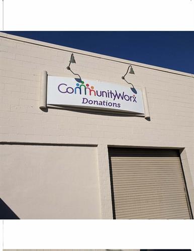 Chapel Hill CommunityWorx donation center
