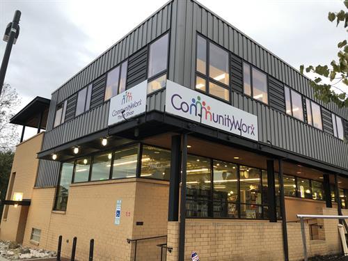 Carrboro CommunityWorx location-retail and exec office