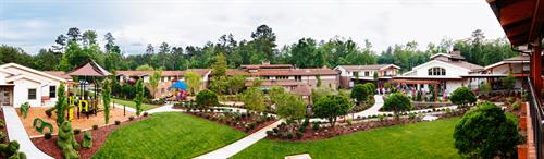 Ronald McDonald House of Chapel Hill courtyard