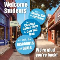 Local Businesses Welcome UNC Students with Deals and Discounts