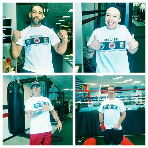 Livramento Delgado Boxing Foundation t-shirt to help support an amazing cause! Stopping the progression of Parkinson.