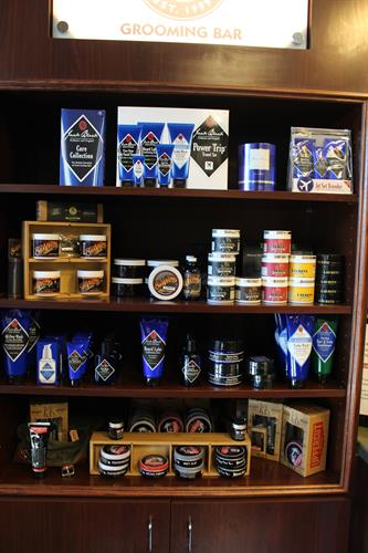 We carry the best hair and shave products available to make you look your best.