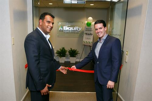 CEO, KP Patel & President, Eddy Perez at Grand Opening Event (4/17/2015)