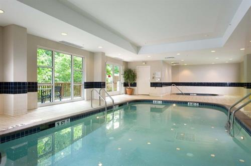 Relax in our indoor pool