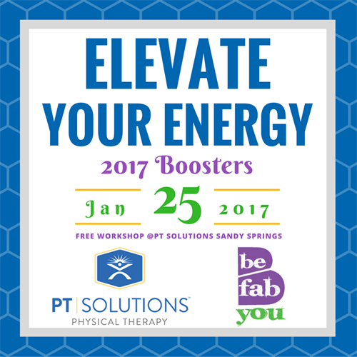 Elevate your energy 2017 boosters jan 25 2017 sandy