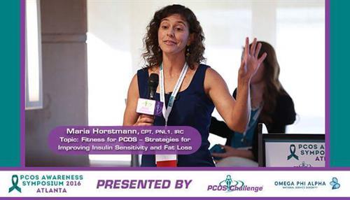 Speaking at PCOS Symposium