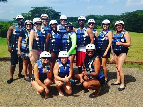 Jamaica - Island Routes River Bumpkin Rafting Crew