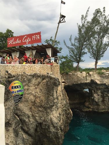 The Infamous Rick's Cafe in Negril, Jamacia