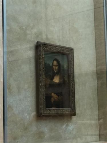 The Mona Lisa - Louvre Paris