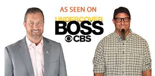 We were recently featured on Undercover Boss.