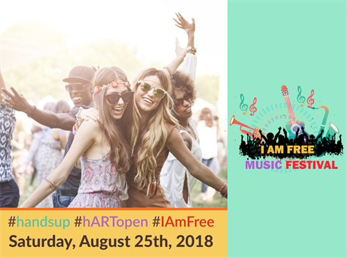 I Am Free Music Festival, Saturday, August 25, 2018 at 1:00 pm