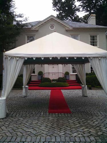 Valet Tent